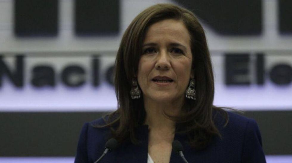 Renuncia Margarita Zavala a financiamiento público para su campaña - Margarita Zavala. Foto de @SalvadorZA.