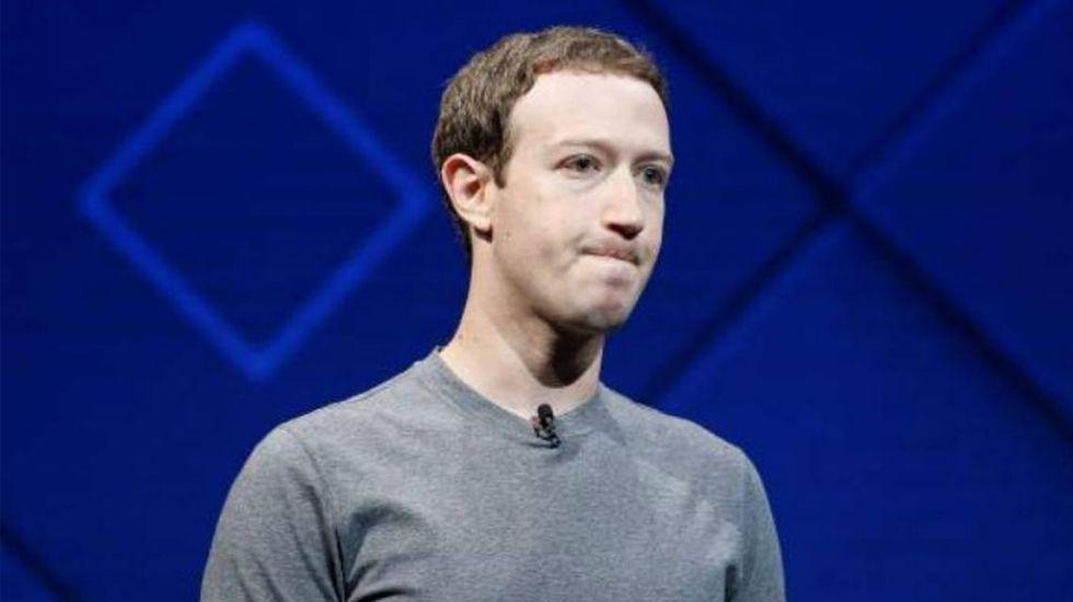 Zuckerberg no eliminará comentarios en Facebook que niegan el Holocausto - Mark Zuckerberg. Foto de Archivo