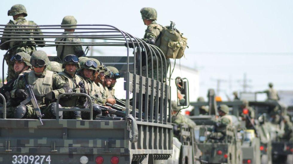 Refuerzan mil 200 militares seguridad en Tierra Caliente de Michoacán - Foto: Internet.