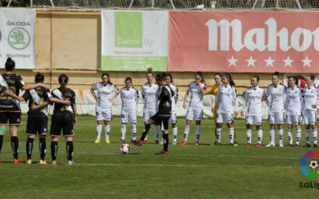#Video Polémico minuto de silencio en la liga femenil española - Foto: La Liga.