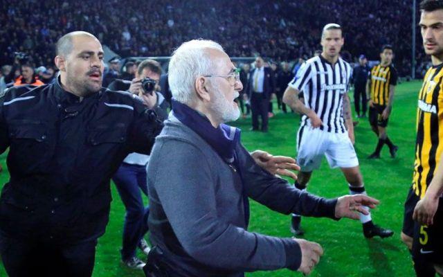 Grecia suspende su liga de futbol tras incidente - Foto de NST