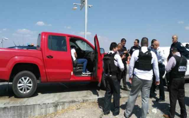 Intentan secuestrar a elementos de la PGR en Guanajuato - Foto: Guanajuato Informa.