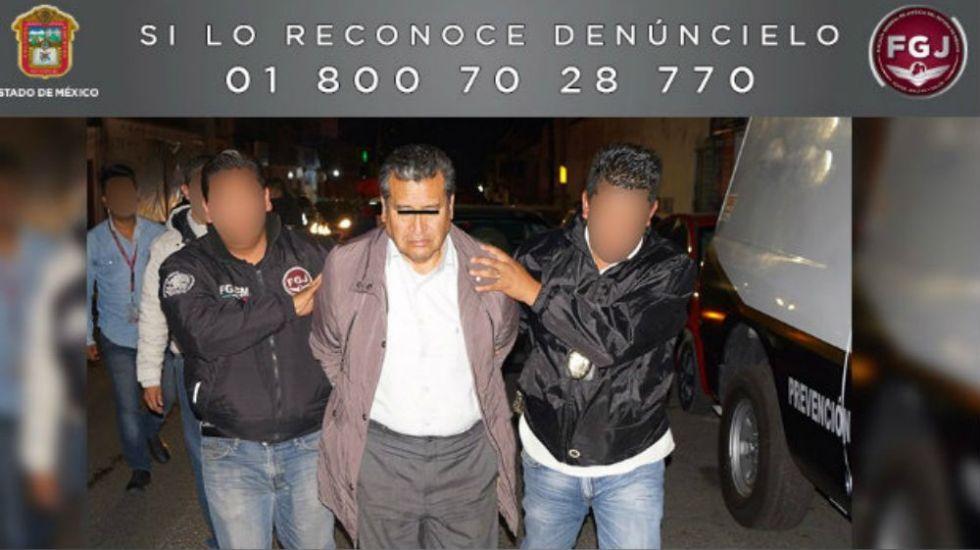 Detienen a presunto implicado en delito de abuso sexual en el Edomex - Foto: FGJ Edomex