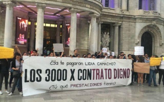 Anuncia INBA pago a trabajadores del Capítulo 3000 - Foto: @SoloLeia.