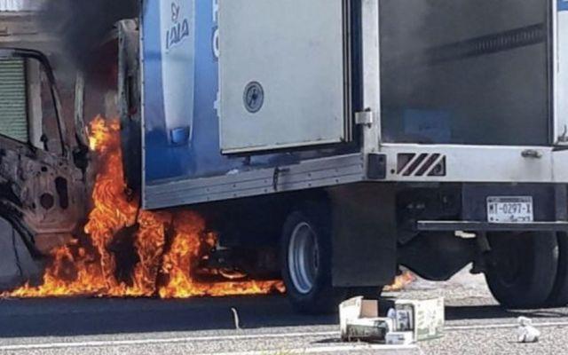 Detienen a 50 por quema de vehículos en Tierra Caliente - Foto de Quadratín