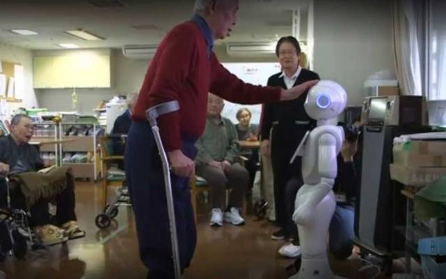 La población en Japón se está haciendo vieja y los robots lo saben - Foto de Internet