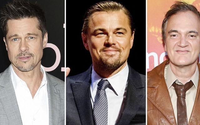 Brad Pitt y Leonardo DiCaprio actuarán en próxima película de Tarantino - Foto de Variety
