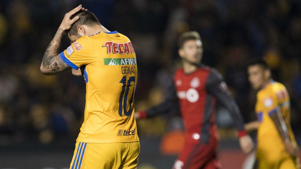Toronto doma a Tigres y lo echa de la 'Concachampions' - Foto: Mexsport.