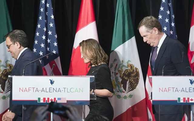 Negociaciones por TLC se extenderán al verano: Canadá - Foto de AP/Archivo