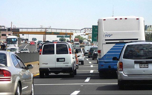 La México-Pachuca, la de mayor aforo vehicular esta mañana