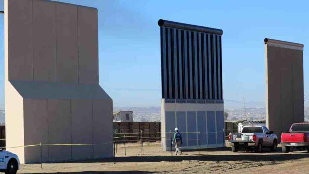 Trump propone pintar de negro el muro fronterizo; costaría 500 mdd - Foto de Internet