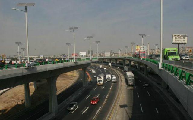 Viaducto Bicentenario cambiará de sentido fines de semana y días festivos - Foto: Expansión.