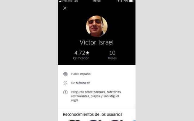 Ubican a chofer de Uber que asaltó a joven española - Foto: @c4jimenez.