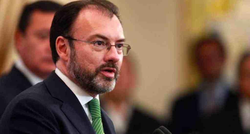 Videgaray prevé conclusión de renegociación de TLC con la UE - Foto de Milenio