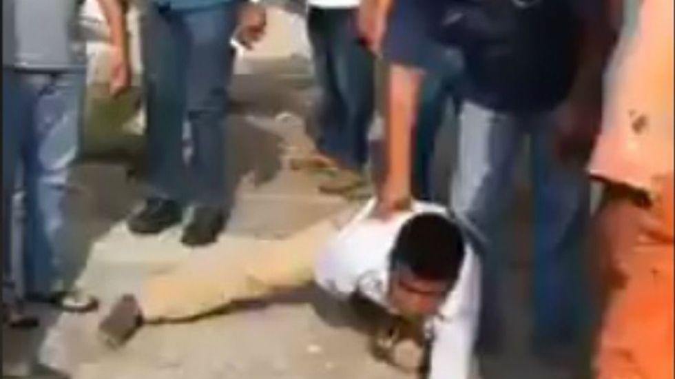 #Video Golpean a acosador de mujeres en Coatzacoalcos