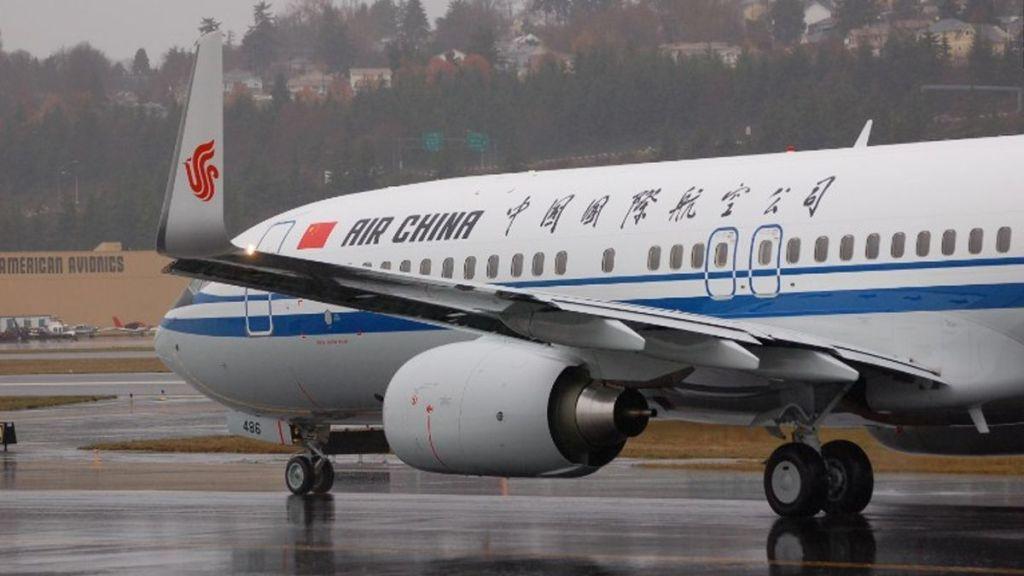 Desvían vuelo de Air China por toma de rehén - Foto de Internet