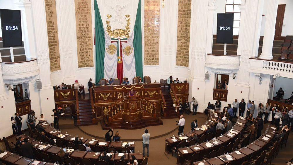 ALDF no tiene fecha para nombrar al jefe de gobierno sustituto - Foto de @AsambleaDF