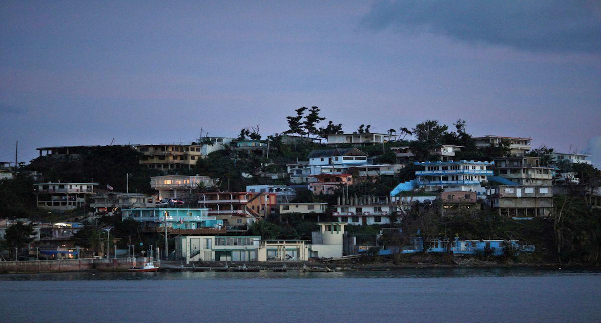 Puerto Rico sigue bajo apagón