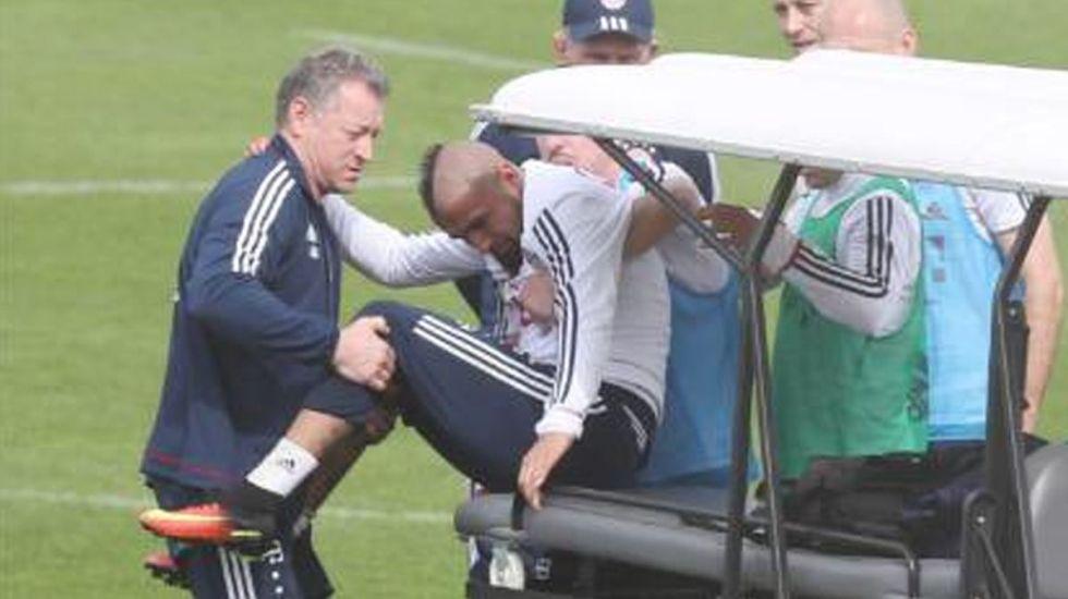 Vidal se perderá el resto de la temporada con el Bayern - Foto de Internet