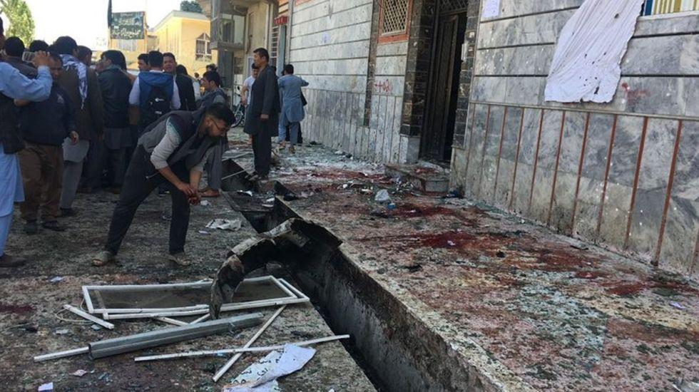 Ataque terrorista deja al menos 48 muertos en Kabul - Foto de AP