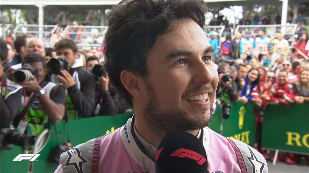 Checo Pérez extiende contrato con Force India. Noticias en tiempo real