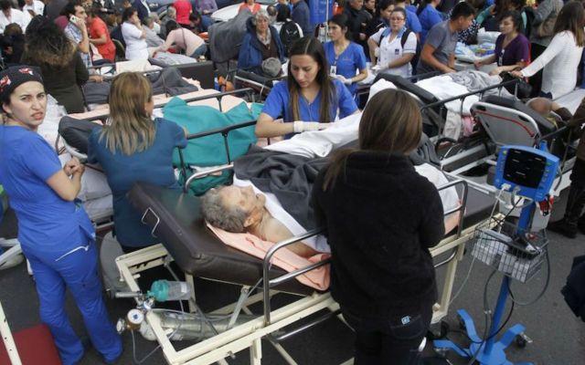 #Video Explosión en clínica de Chile deja tres muertos y cerca de 50 heridos