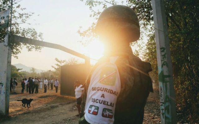 Implementan operativo de seguridad en regreso a clases en Guerrero