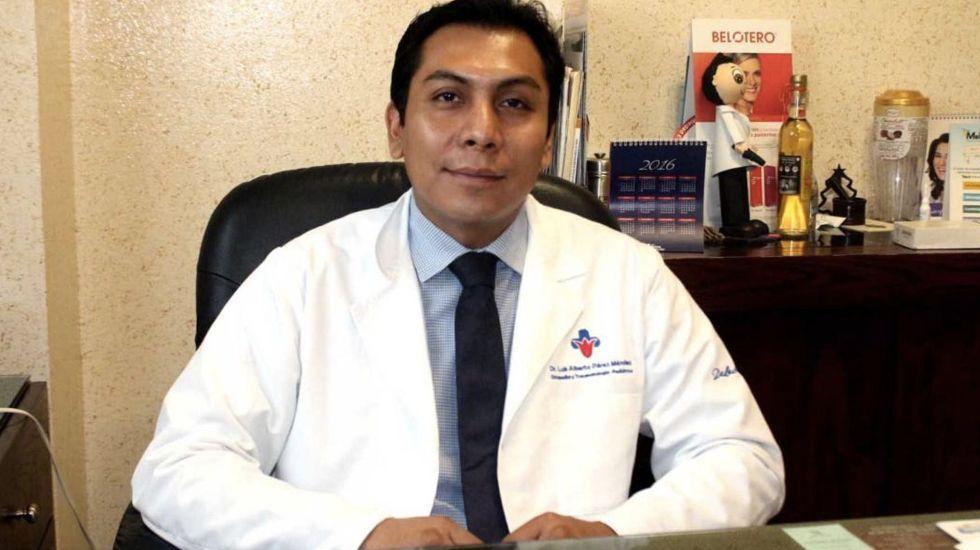 Médicos llaman a paro nacional para exigir liberación del doctor Luis Alberto Pérez - Foto de Oaxaca Político