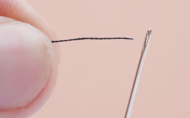 #Video Cómo ensartar una aguja en segundos - Foto de internet