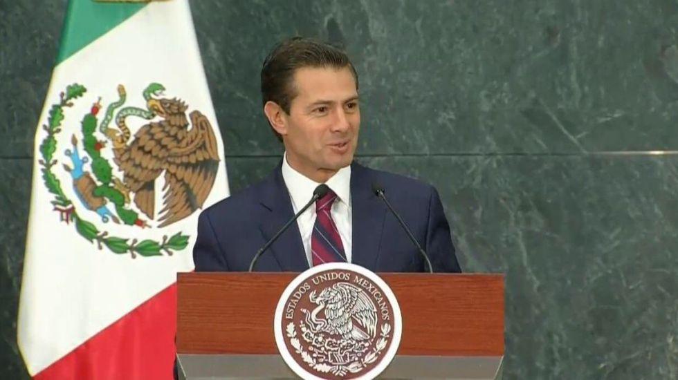 Peña Nieto informa al Senado de viaje a Cumbre de las Américas - Foto de @CNAgropecuario