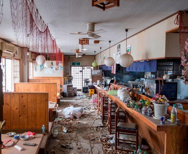 Así luce la zona de abandonada de Fukushima tras accidente nuclear - Foto de Caters News Agency
