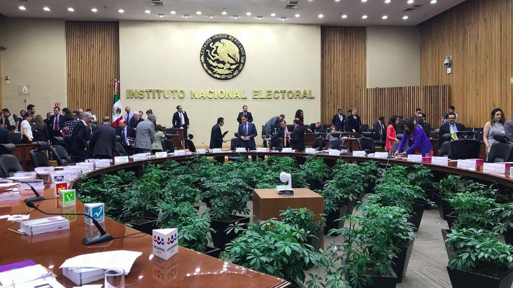 INE interpondrá controversia por recorte de presupuesto - Foto de @INEMexico