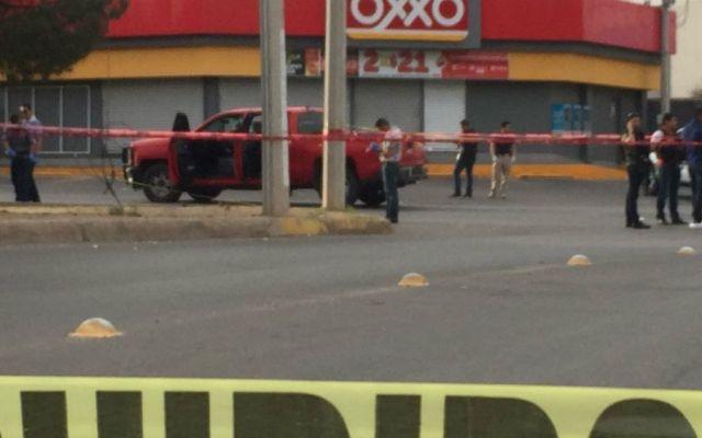Atacan a escoltas del gobernador chihuahuense Corral - Foto: Tiempo Digital.