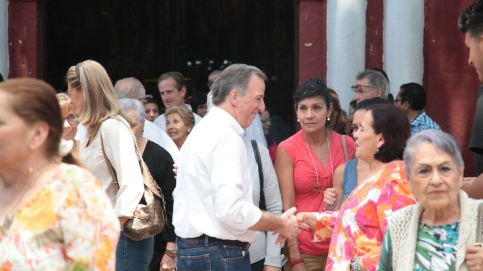 #FOTOS Así José Antonio Meade previo al debate presidencial
