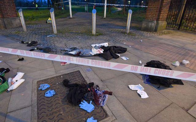 Apuñalan a seis jóvenes en Londres en solo 90 minutos - Foto de AP