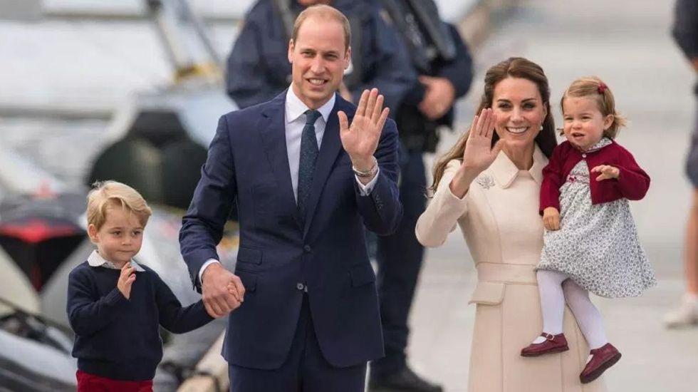 La duquesa de Cambridge da a luz a su tercer hijo - Foto de Internet