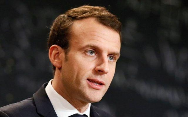Macron afirma tener pruebas de ataque químico en Siria - Emmanuel Macron descarta asistencia davos