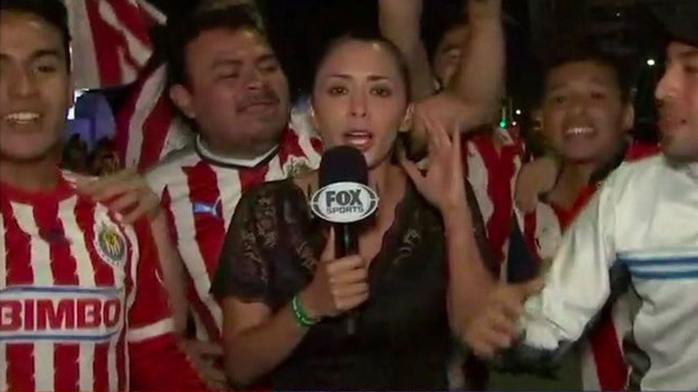 Reportera de Fox narra agresión que sufrió en La Minerva