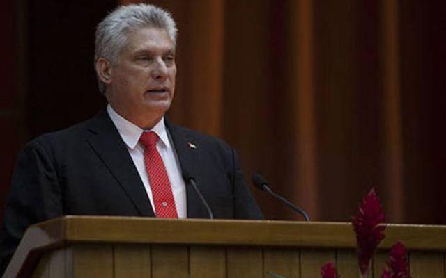 López Obrador recibirá al presidente de Cuba en Palacio Nacional - Miguel Díaz-Canel. Foto de Granma