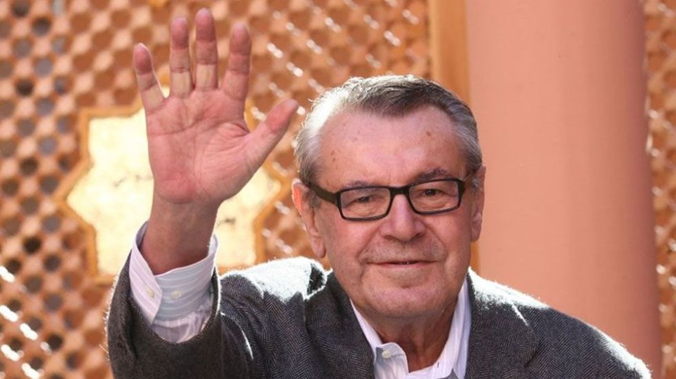 Muere el director MiIos Forman a los 86 años - Foto de AP