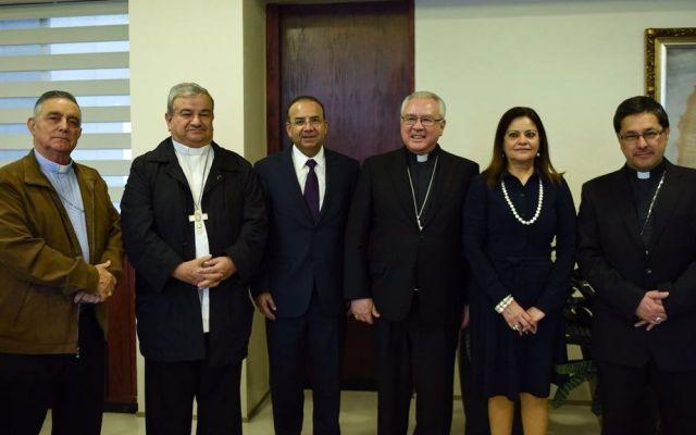 Navarrete Prida se reúne con sacerdotes tras diálogo de obispo con narcotraficante - Foto de @navarreteprida