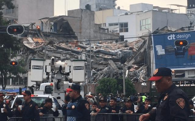 Policía capitalina expide protocolo de actuación en caso de sismo