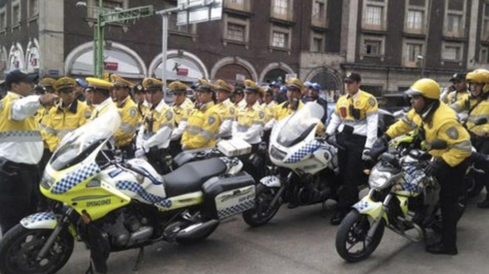 Desplegarán más de mil policías por debate capitalino - Foto de Milenio