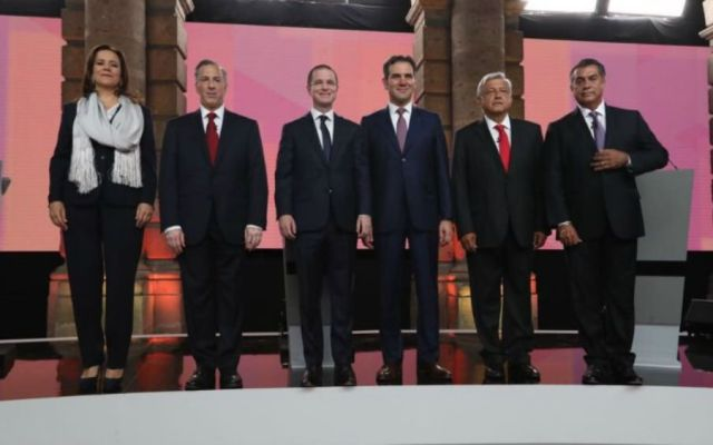 Debate presidencial costó 12.6 millones de pesos - Foto de @lorenzocordovav