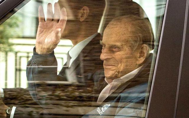 Dan de alta a príncipe Felipe tras cirugía de cadera - Foto de Internet