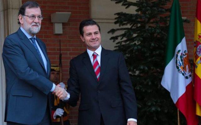 Peña Nieto y Mariano Rajoy celebran reunión en España - Foto de Twitter