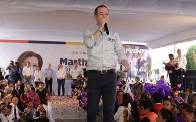 Ricardo Anaya denuncia una alianza entre Mario Marín y AMLO - Foto de Agencia Enfoque