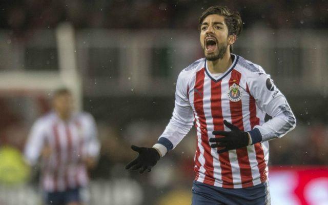 Rodolfo Pizarro, nuevo jugador de Rayados - Foto: Mexsport.