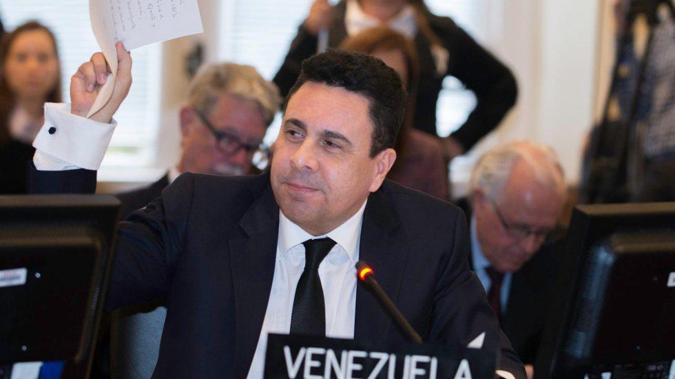 Embajador de Maduro ante ONU acusado de fraude por delegación de Guaidó en EE.UU. - Foto de La Verdad de Monagas