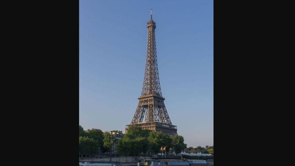 Foto de Twitter La Tour Eiffel